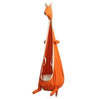 Wholesale outdoor hanging swings resale online - Kangaroo Swing Chair Hammocks Indoor Outdoor Hanging Seat Kids Swing Seat Garden Furniture Cartoon Swing Nursery Furniture CCA11696 A