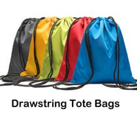 bez giyim çantaları toptan satış-Çocuk Giysileri Ayakkabı Su Geçirmez Çanta 600D Oxford Bez İpli Çanta Spor Salonu Dans Sırt Çantası 5 Renkler Alışveriş Depolama Katlanır Çanta M36F