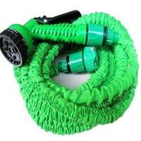 Wholesale hose 75ft for sale - Group buy Garden hose FT FT FT FT Flexible X Garden Water Hose With Spray Gun Car Wash Pipe Retractable Watering Telescopic Rubber Hose