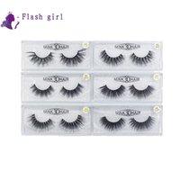 w cils achat en gros de-W série 19 modèles 5D Mink Eyelashes 1 paire de faux cils naturels Full Strip Eye Lashes épais et faux cils
