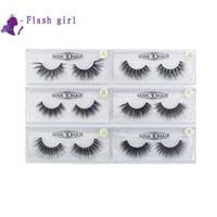 Wholesale w eyelashes for sale - Group buy W series models D Mink Eyelashes pair natural false eyelashes Full Strip Eye Lashes Thick false Eyelashes