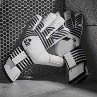 ingrosso guanti in lattice uomo-Guanti da portiere da calcio professionali da uomo addensano guanti da portiere da calcio sportivi in lattice da 3mm antiscivolo