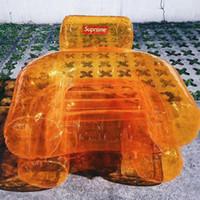 almofadas flutuantes venda por atacado-Atacado-cadeira inflável tnr Lounge Bóias Infláveis e Tubos Beanbag Sofá Cadeira Sala de Feijão Saco Almofada Ao Ar Livre Auto Inflado