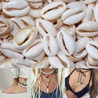 Wholesale diy shell necklace for sale - Group buy 50Pcs Loose Beads Shell Pendant Necklace Anklet DIY Accessory Home Decor