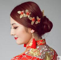 accessoires de cheveux de strass indien achat en gros de-Accessoires de mariage Festival épingles à cheveux de mariée élégant haut de gamme nouvelle arrivée en gros personnalisé strass épingles à cheveux épingles à cheveux coiffe