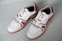 weiße stiefeletten männer groihandel-Die neuesten weißen Leder Ankle Sneaker Boots, Sneakers Speed Trainer Herren Outdoor-Jogging-Schuhe mit Box Größe 38-45