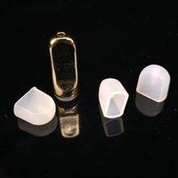cubre vape al por mayor-E Cigarrillo desechable tapa de silicona tapa de la tapa de goteo para plástico plano boquilla de cerámica cartucho de vapor grueso aceite Vape pluma