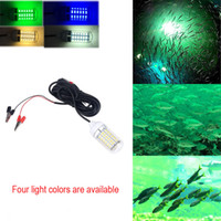 ingrosso luci subacquee 12v-CHAMSGEND 12V LED Bait Fishing Light Fish Finder Lampada LED Barca Sommergibile Luce Subacquea Drosphipping Z0708