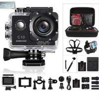Wholesale soocoo for sale - Group buy 2019 NEW SOOCOO C10 Full HD Sports Action Camera NOVATEK96655 with Wifi cam p MP Degree Wide Lens Waterproof mah