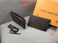 телефон люкс человека оптовых-Лучшее качество роскошные бренды бумажник сумки Мужчины Женщины клатч дизайнер сумки мода карты пакет мобильный телефон сумка AAAA301