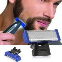 rasoir rechargeable usb achat en gros de-Tondeuse rasoir électrique rechargeable pour homme Bords de rasage pour hommes rasoir de voyage pour hommes Directions pour tondeuses Grattoir chargé Multi-functio