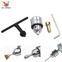 Wholesale mini drill parts for sale - Group buy chuck Hot Electric Grinding Mini Chuck Key Keyless Drill Chucks mm Capacity Range W mm Shaft Connecting Rod