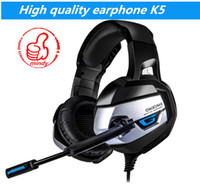 Wholesale best chinese ear headphones for sale - Group buy High quality ONIKUMA K5 mm Gaming Headphones Best casque Earphone Headset with Mic LED Light for Laptop Tablet PS4 New Xbox One