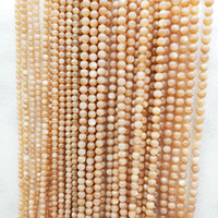 Wholesale handmade semi precious necklaces for sale - Group buy Natural Sunstone Beads mm Semi finished Sunstone Beads Semi precious Stones Handmade Necklace DIY Bracelet cm