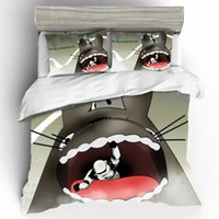 Wholesale totoro bed resale online - Home Textiles Cartoon Totoro Qualified D Luxury Bed Linen Cotton Set Couple King Size Bedding Set Duvets Sets Bed Linen Bading