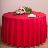 wedding table covers toptan satış-Saten Kumaş Masa Örtüsü Masa Örtüsü Sofra Restoran Otel Ziyafet Ev Düğün Masa Dekorasyon Için SSA225