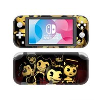 Wholesale accessories game machine resale online - Bendy and the Ink Console Decorations Game Accessories Machine Skin Sticker Decal For Nintendo Switch Lite Console Protector Joycon Nintend