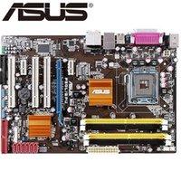ddr2 anakartlar toptan satış-Asus P5QL / EPU Masaüstü Anakart P43 Soket LGA 775 Q8200 Q8300 DDR2 16G ATX UEFI BIOS Orijinal Satışa Kullanılan Anakart