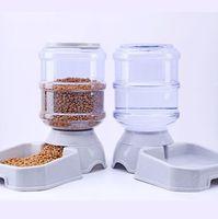 dispensador automático de bebidas para animais de estimação venda por atacado-3.8L pet alimentador automático cão gato água potável cat alimentação grande capacidade dispensador pet tigela cão