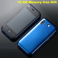 Wholesale mini google android phone resale online - Updated GB Soyes S super mini smartphone MP HD Camera Dual SIM WIFI BT Quad Core smartfon Small G Touch cellular phone for student