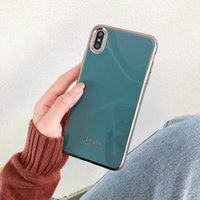 Wholesale apple carvings resale online - Applicable D ring carving plating For iPhone11 Pro max phone case TPU soft plastic XS Max XR protective cover Plus