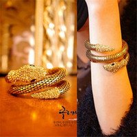 Wholesale costume jewelry snake bracelets for sale - Group buy Jewelry Women s Crystal Stretch Snake Bracelet for Women Halloween Costume Outfit