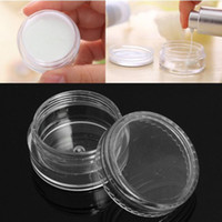 Wholesale empty nail glitter containers for sale - Group buy Plastic ml Cosmetic Jar Empty Eyeshadow Case Face Cream Bottles Glitter Container Eye Shadow Empty Nail Pots Beauty Tool DBC BH3647