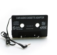 Wholesale amplifier for mp3 player for sale - Group buy Audio Aux Car Cassette Tape Adapter Converter mm MP3 Player for iphone for ipod MP3 MP4 Android Phone