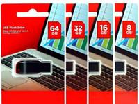 блистерная упаковка оптовых-100% реальный 8 ГБ 16 ГБ 32 ГБ 64 ГБ дизайн высокого качества творческая личность USB флэш-накопитель / pendrive розничная блистерная упаковка бесплатная доставка