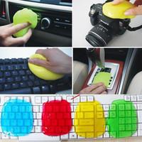 ingrosso colla pulita della tastiera-Magic Car Cleaning Sponge Products Auto Universale Cyber Super Clean Glue Strumenti pulisci polvere in microfibra Gel Wiper per tastiera
