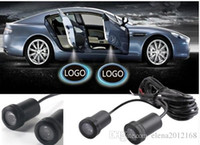 Wholesale hyundai lighting for sale - Group buy 2 LED Car Door Lamp welcome logo projection Light for BMW Toyota Honda Nissan Hyundai Kia Volkswagen Audi Ford Jeep