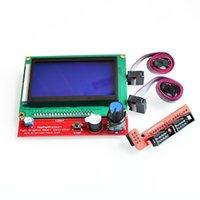 ingrosso stampante arduino-RAMPS 1.4 Scheda Smart Controller 12864 Display LCD Modulo sensore Scheda madre Adattatore Pannello di controllo Stampante 3D Reprap Arduino