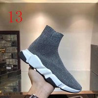 Wholesale sexy sports shoes resale online - pattern Summer Casual Socks shoes Sexy knitted elastic sock boots Designer woman Shoes Fashion male sports shoes Large