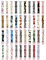 печатные браслеты оптовых-цветная печать спорт силиконовый ремешок для яблока ремешок для часов 42 мм 38 мм 44 мм 40 мм iwatch серии 4/3/2/1 браслет браслеты