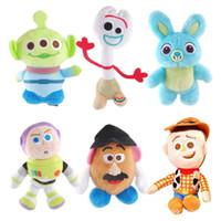 anahtar oyuncaklar toptan satış-2019 yeni varış 7 stilleri oyuncak 4 peluş oyuncaklar Bo Peep Shepherdess FORKY Peluş Bebekler anahtarlık kolye oyuncaklar
