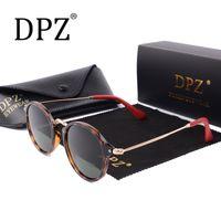 Wholesale sunglasses man polarised resale online - Top Design Vintage Polarised Sunglasses Men Women Glasses Farreri Series F2447 Lens N Sheep Leather Feet