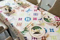 Wholesale table cloths for sale - Group buy Luxury Design S L Letter Tablecloth For Table Decorative Hot Sale cm cm Rectangle Table Cloth