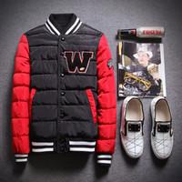 ingrosso giacche da baseball in lana uomini-Giacca da baseball da uomo in pelle adatta per università di lusso in lana da pilota in pelle casaco ino
