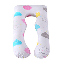 Wholesale solid pillow covers for sale - Group buy Full Body Maternity Pillows U Shape Pregnancy Pillows with Removable Cotton Cover Support for Pregnant Nursing Women