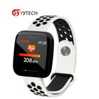 steuern bluetooth fotos großhandel-SYYTECH Neue 1,3 zoll HD F15 smart watch herzfrequenz blutdruckmessgerät Bluetooth fernbedienung foto sport Smart armband