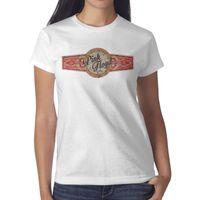 ingrosso sigaro rosa-Pink Floyd- Wish You Were Here Cigar Label donna bianca maglietta, camicie, magliette, magliette shirt design vintage superhero cinturino atletico t sh