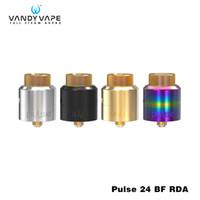 elektronisch 24 großhandel-Original vandy vape pulse 24 bf rda tank 2 ml kapazität 510 gewinde zerstäuber für elektronische zigarette box mod pulse 24 rda zerstäuber