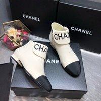 ayak bileği kadın ayak bileği çizmeleri toptan satış-Yeni Kadın Kış Yuvarlak Burun Moda Bilek Boots femal Karışık Renkli Yan Fermuar Kısa Çizme Kadın Karışık Renkli İşlemeli çıplak botları Geldi