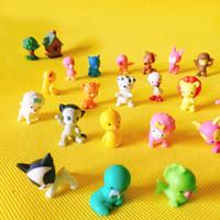 ingrosso terrario di rana-10 Pz / gatti carino cani rane serpente delfino / miniature animali / fata giardino gnome / terrario casa decorazione tavola / figurine / fai da te forniture