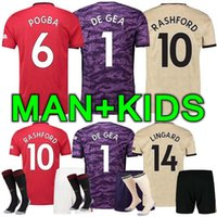Wholesale 26 jersey for sale - Group buy 19 Men and kids kit manchester lukaku soccer jersey home Man pogba alexis RASHFORD LINGARD united football shirt