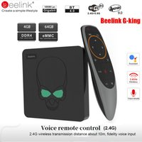 Wholesale king tv resale online - Beelink GT King Smart Android TV Box Android Amlogic S922X GB GB G Voice Control G WiFi Mbps LAN Set Top Box