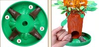 yığın oyunu toptan satış-Blok Aksesuarları suzakoo karikatür arı ağacı istifleme blokları oyuncak zeka oyunu çocuklar için bir adet erken eğitim masaüstü