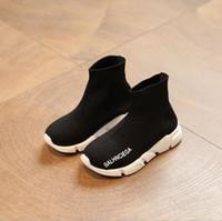 rahat spor ayakkabıları kızlar toptan satış-Tasarımcı Toddler Ayakkabı Çocuklar Bebek Yaz Çocuk Sneakers Bebek Koşu Spor Ayakkabı Yumuşak nefes Rahat Bebek Erkek Kız Çocuk