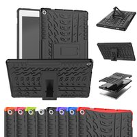 Wholesale tablet cases for kindle fire hd resale online - Case back Stand For Amazon Kindle Fire HD Hybrid Rugged Hard Rubber tablet PC Stand Case Cover Protective Bracket Shock proof Shell