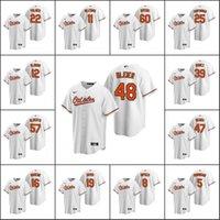 Wholesale ripken jersey resale online - Baltimore Orioles Cal Ripken Jr Richard Bleier Jim Palmer Men Women Youth Custom White Replica Home Jersey